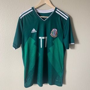 Adidas Mexico Soccer Jersey